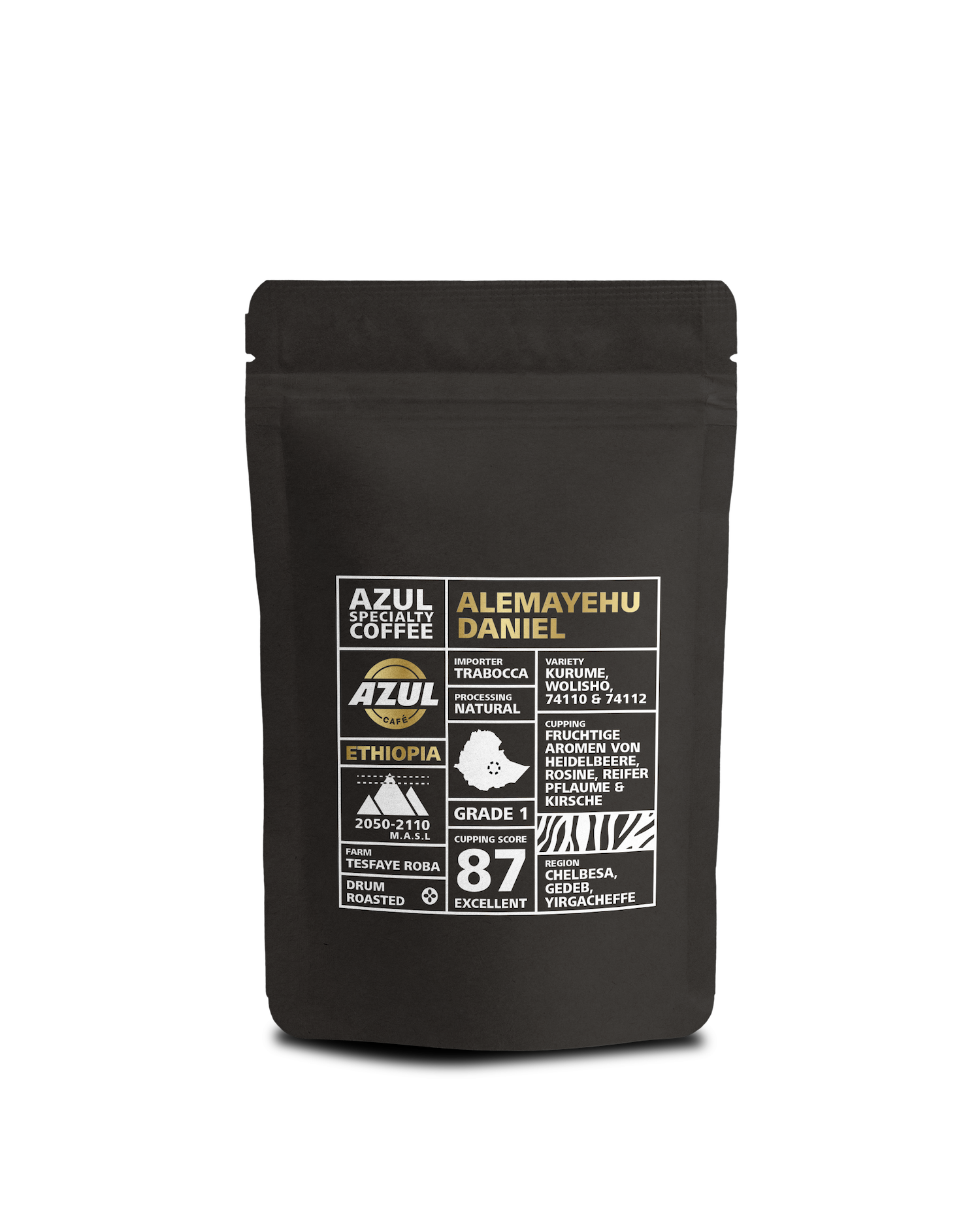Azul Kaffee – Specialty Coffee Ethiopoa Alemayehu Daniel