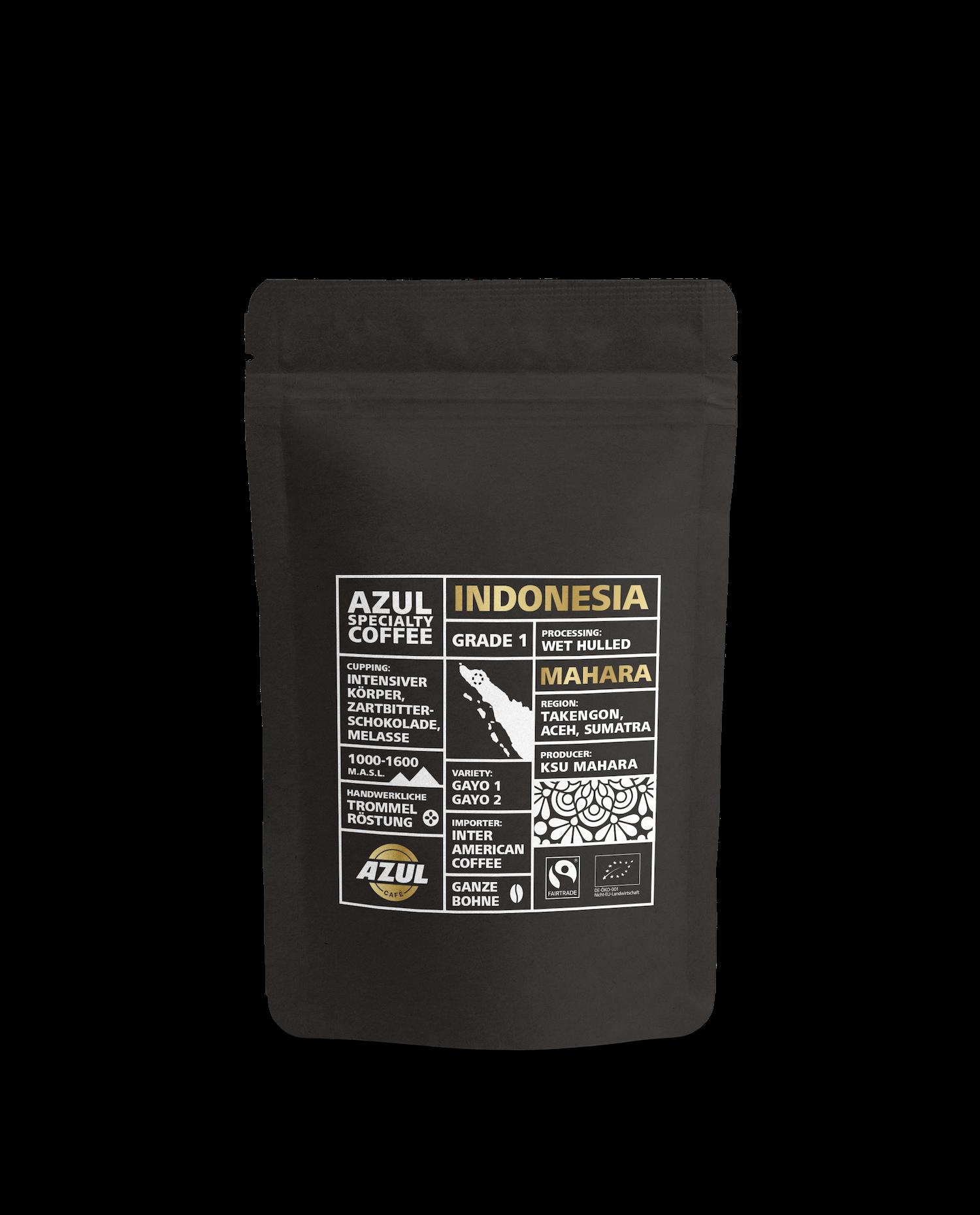Azul Kaffee – Specialty Coffee Indonesia Mahara