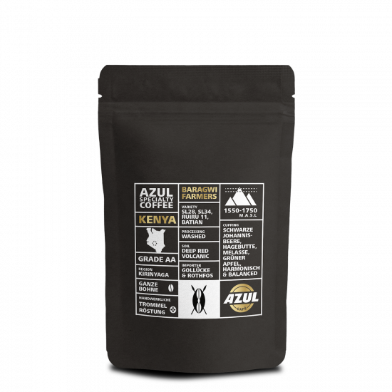 Azul Kaffee – Specialty Coffee Kenya Baragwi Farmers