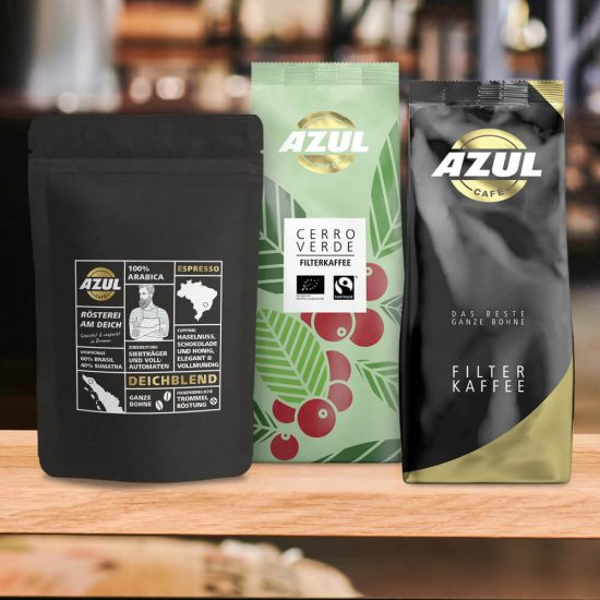 Azul Kaffee – Produktübersicht
