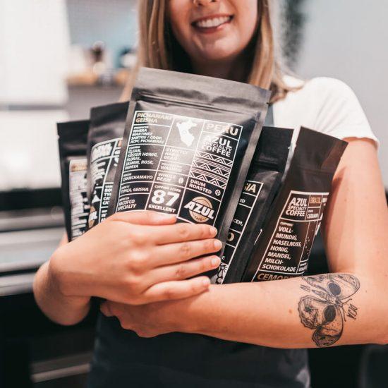 Azul Kaffee – Werksverkauf